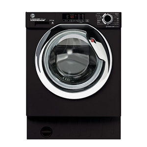 Hoover H-WASH&DRY 300 LITE HBDS485D1ACBE Integrated 8Kg / 5Kg Washer Dryer with 1400 rpm - Black