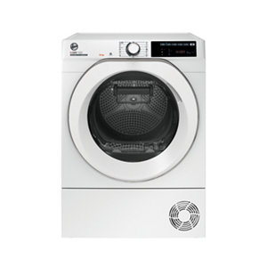 Hoover ND H10A2TCE White Freestanding Heat pump Tumble dryer 10kg