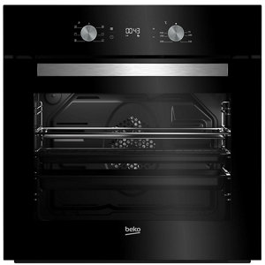 Image of Beko BQE24300B Black Built-in Electric Single Multifunction Oven