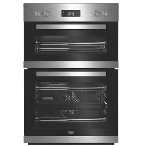 Image of Beko BDQF22300X Stainless steel Built-in Electric Double Multifunction Oven