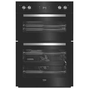 Image of Beko BDQF24300B Black Built-in Electric Double Multifunction Oven