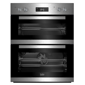 Image of Beko BTQF22300X Stainless steel Built-in Electric Double Multifunction Oven
