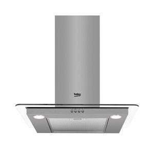 Image of Beko HCF61620X Stainless steel Chimney Cooker hood (W)60cm