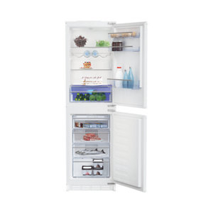 Image of Beko ICQFDB355 50:50 White Integrated Fridge freezer