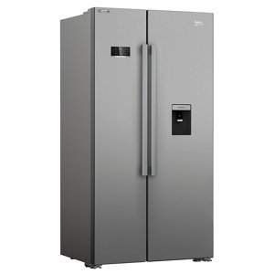 Beko ASD2341VX American style Freestanding Fridge freezer
