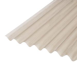 Image of Corrubit Bronze effect PVC Corrugated Roofing sheet (L)2m (W)950mm (T)0.8mm