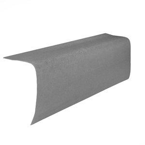 Image of BTM Corrubit Grey Bitumen Edge piece (L)1m (W)200mm (T)2.2mm
