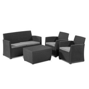 Image of Mia Plastic 4 seater Coffee set