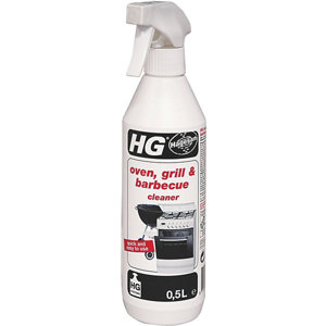 Image of HG BBQ grill & oven Ovens grills & BBQ's Cleaner 500ml Trigger spray bottle