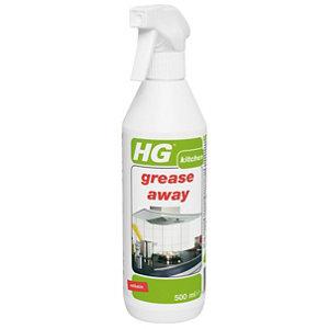 Image of HG Grease away Kitchen Cleaner 500ml Trigger spray bottle
