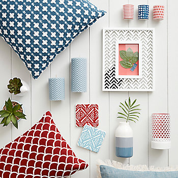 Scandinavian inspired decor accessories