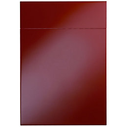 Cooke & Lewis Raffello High Gloss Red Drawerline