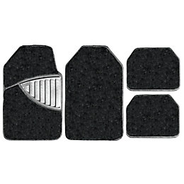 Michelin Premium Black Car Mat, Set of 4