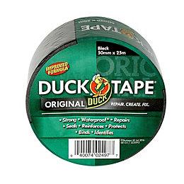 Duck Black Cloth Tape (L)25M (W)50mm