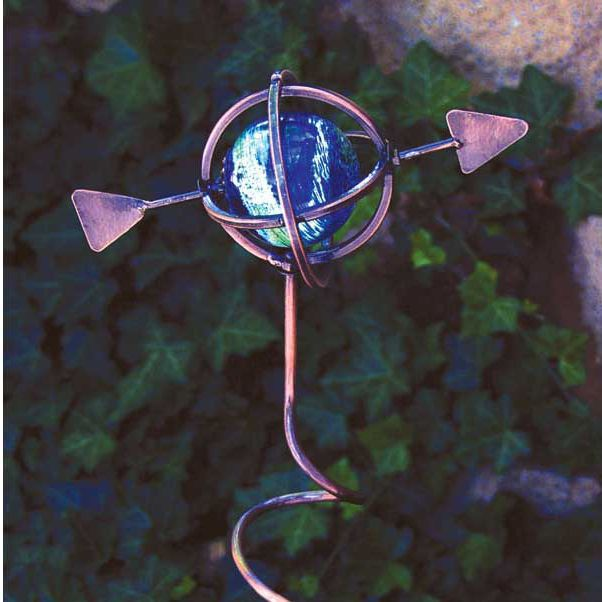 Illuminarie Armillary Sphere Decorative Stake