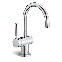 InSinkErator Chrome finish Filtered hot & cold water