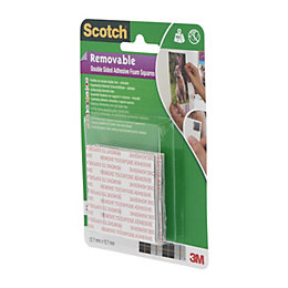 Scotch Grey Double Sided Tape (L)12.7M (W)12.7mm