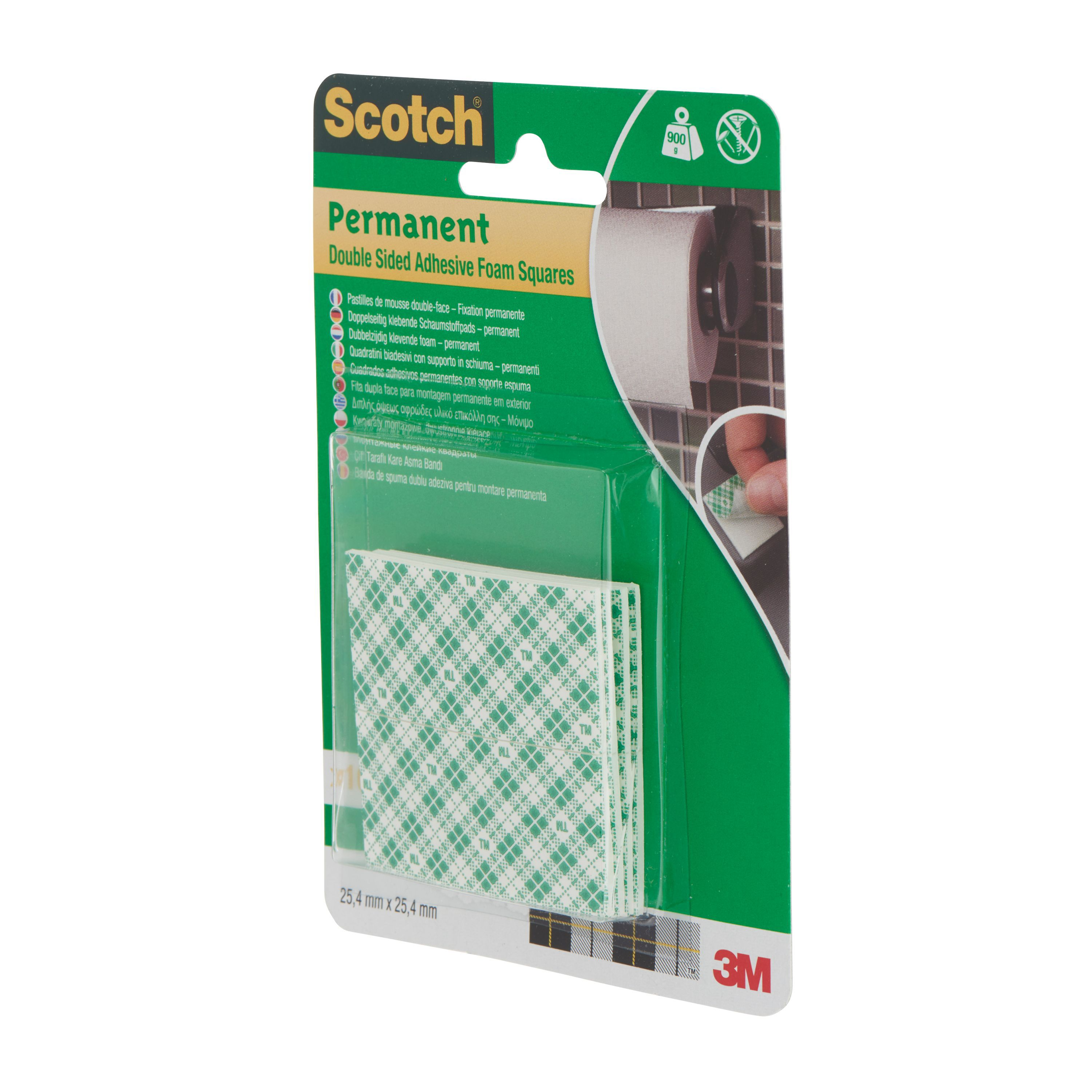 Scotch grey double sided tape l 25 4 m w departments tradepoint - Scotch double face castorama ...