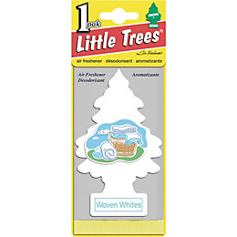 Little Trees Woven Whites Air Freshener