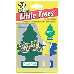 Little Trees Vanilla Aroma Air Freshener, Pack of