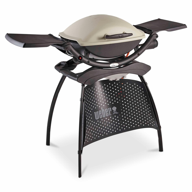 weber q2000 2 burner gas barbecue with stand departments. Black Bedroom Furniture Sets. Home Design Ideas