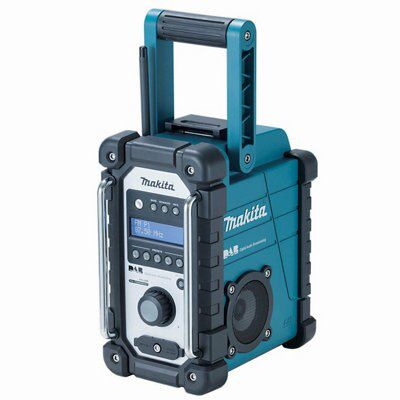 makita lxt dab site radio dmr104 blue departments diy at b q. Black Bedroom Furniture Sets. Home Design Ideas