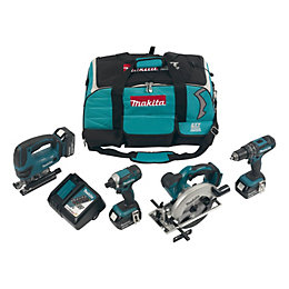 Makita LXT Cordless 18V 4Ah 4 Piece Multi