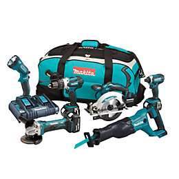 Makita LXT Cordless 18V 5Ah 6 piece Power