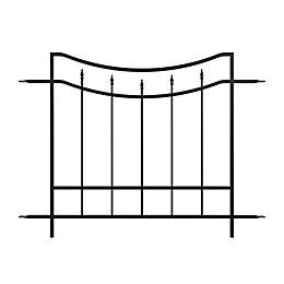 Panacea Steel Post support (L)1220mm (W)1220mm (D)30mm