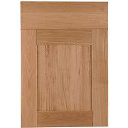 Cooke & Lewis Chesterton Solid Oak Drawerline door