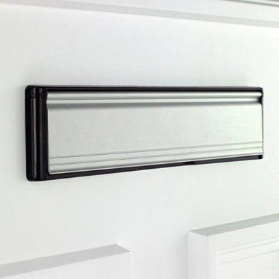 & Bu0026Q Chrome Effect Letter Plate | Departments | DIY at Bu0026Q