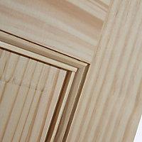 6 Panel Clear pine Internal Door, (H)2032mm (W)813mm