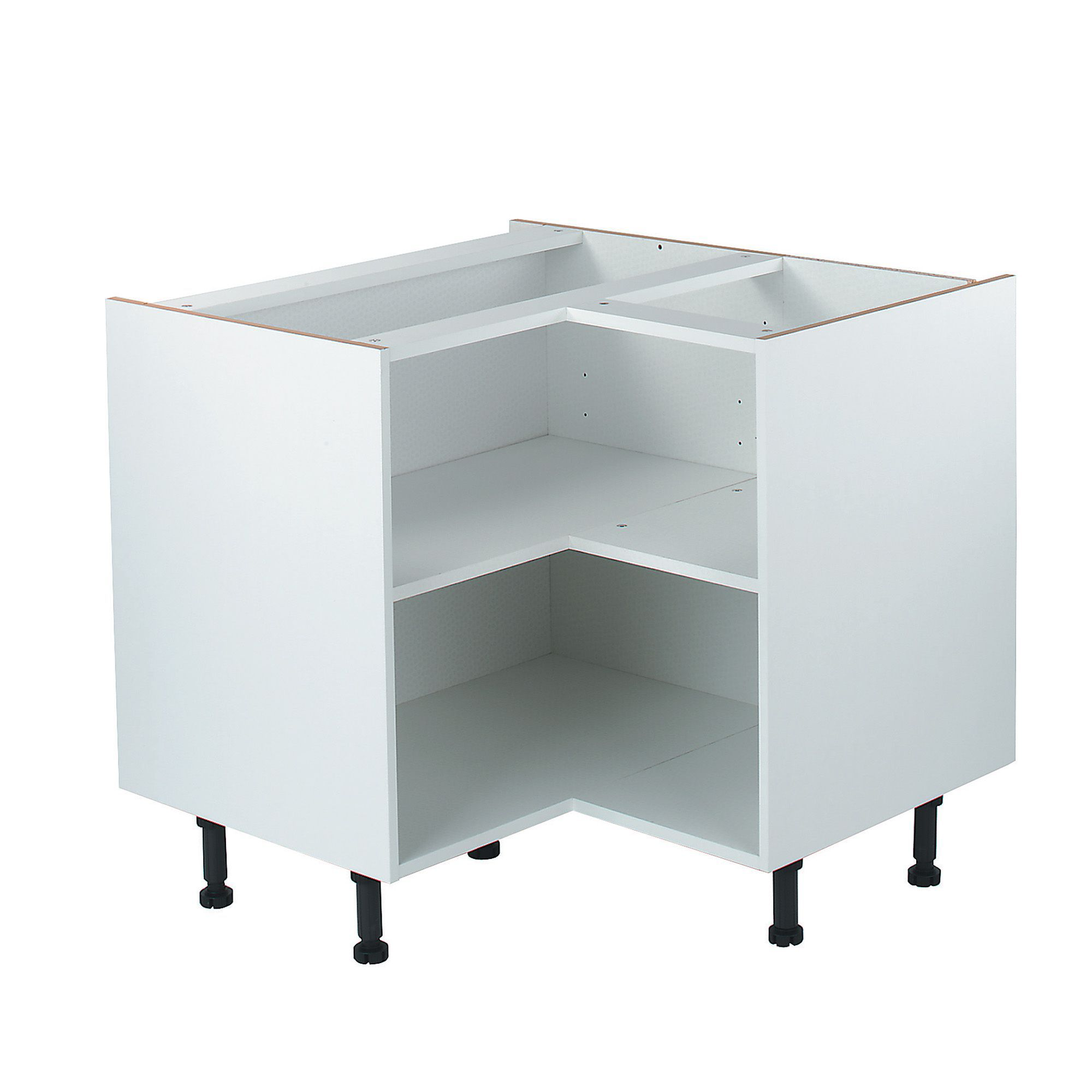 b q kitchen base cabinets it kitchens white corner base cabinet w 925mm 10857