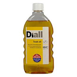 B&Q Satin Teak Oil 0.5L