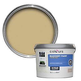 Colours Sandstone beige Textured Masonry paint 5L