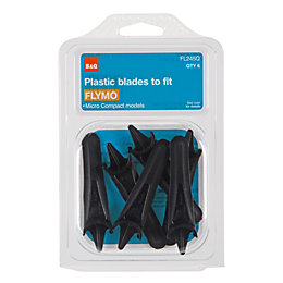 B&Q FL245Q Plastic Lawnmower Blade, Pack of 6
