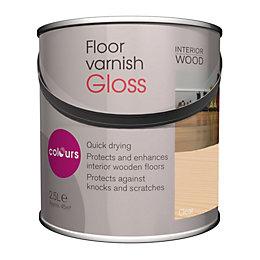 Colours Clear Gloss Floor Varnish 2500ml
