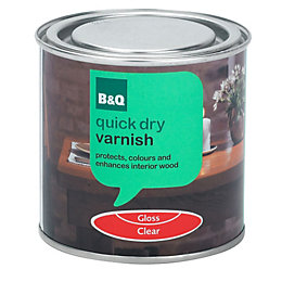 B&Q Gloss Interior Varnish 250ml