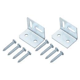 B&Q Silver Zinc Effect Mild Steel Angle Bracket