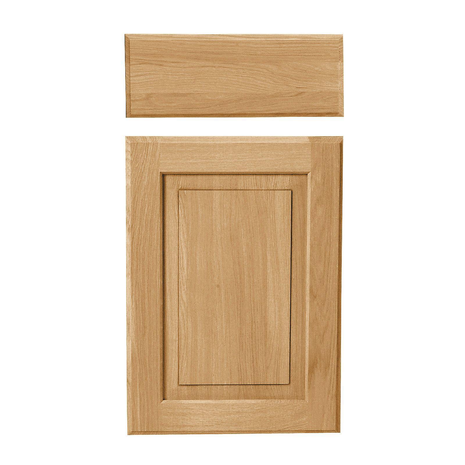 B Q Kitchen Cabinets Sale: Cooke & Lewis Chesterton Solid Oak Classic Drawerline Door
