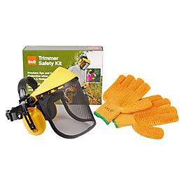 B&Q Trimmer Safety Kit