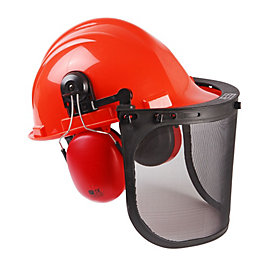 B&Q Orange Safety Helmet