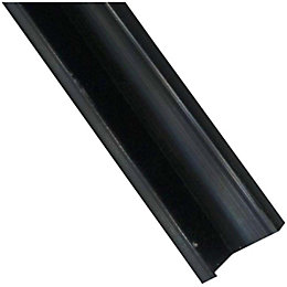 IT Kitchens Black Aluminium Kitchen Splashback Corner Joint