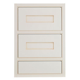 Cooke & Lewis Woburn Framed Ivory Drawer front