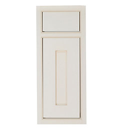 Cooke & Lewis Woburn Framed Ivory Drawerline door