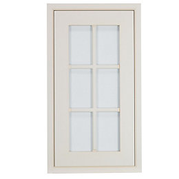 Cooke & Lewis Woburn Framed Ivory Tall glazed
