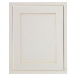Cooke & Lewis Woburn Framed Ivory Tall Single