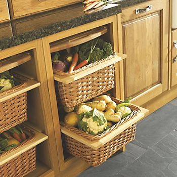 IT Kitchens Wicker Storage System
