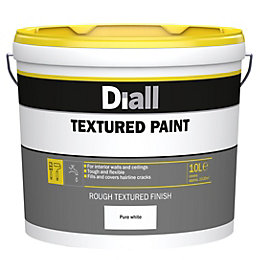 Diall White Matt Paint 10L