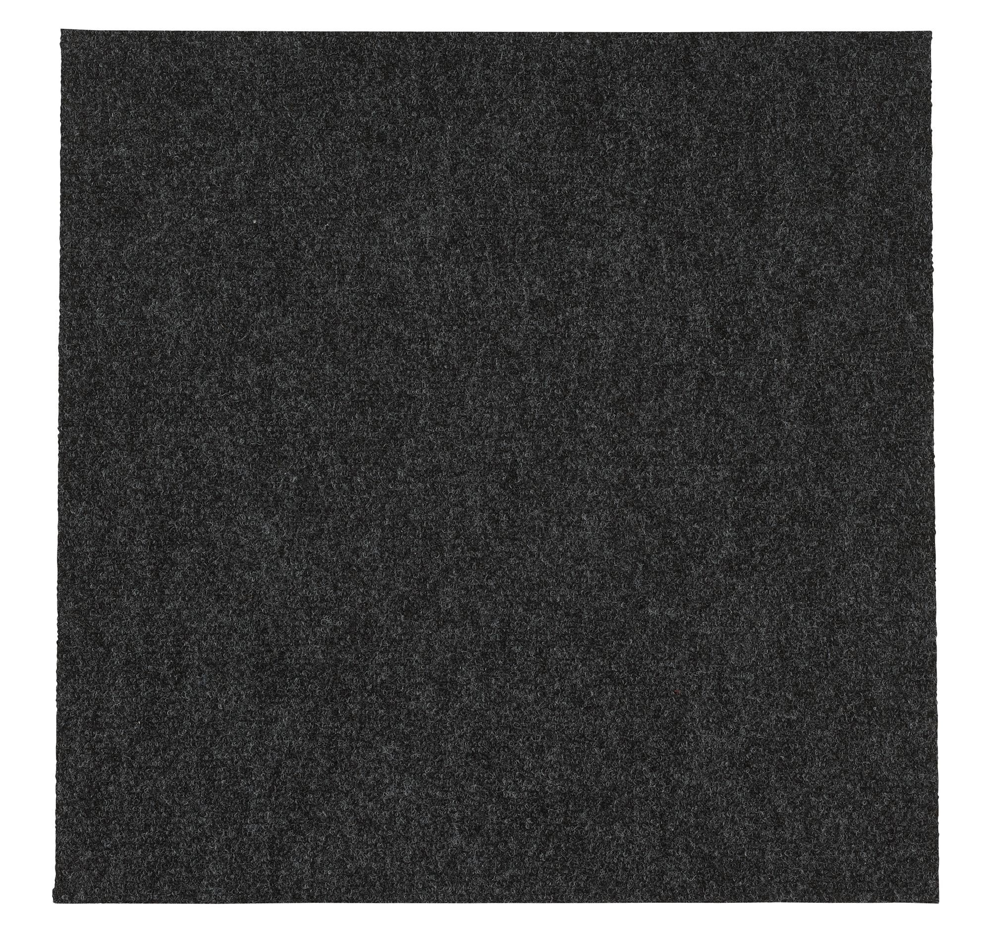 B&Q Grey Loop Carpet tile, (L)50cm, Pack of 10 | Departments | DIY at B&Q